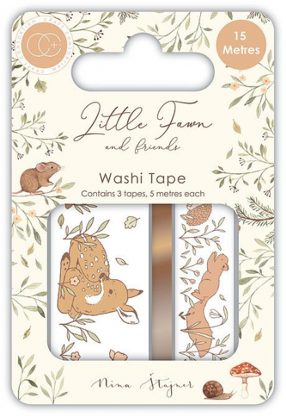 Craft Consortium Little Fawn Washi Tape